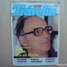 Cine: TRÁVELIN LA REVISTA DE CINE Nº 8 EDITORPRESS 1981; CARLOS SAURA, FAYE DUNAWAY; ROMY SCHNEIDER. Lote 72817215