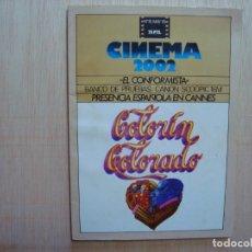 Cine: CINEMA 2002 Nº 15 1976; EL CONFORMISTA; COLORÍN COLORADO; PACO BETRIU. Lote 72817431