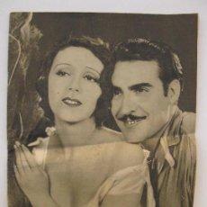 Cine: POPULAR FILM - AÑO VI - Nº 239 - 12 DE MARZO DE 1931.. Lote 73009031