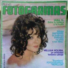 Cine: XL58 SARA MONTIEL REVISTA ESPAÑOLA FOTOGRAMAS ENERO 1974. Lote 73317295