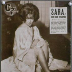 Cine: XL72 SARA MONTIEL REVISTA ESPAÑOLA CINE EN 7 DIAS MARZO 1965. Lote 73378471