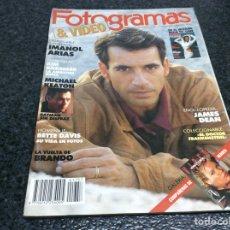 Cine: REVISTA FOTOGRAMAS Nº 1757 NOVIEMBRE 1989 IMANOL ARIAS POSTER DESPLEGABLE. Lote 73435379