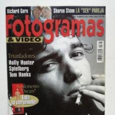 Cine: FOTOGRAMAS Nº 1807, ABRIL 1994, PORT. ANTONIO BANDERAS. Lote 73455503