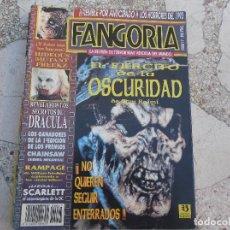 Cinema: FANGORIA Nº 17: EL EJERCITO DE LA OSCURIDAD. DRACULA. RAMPAGE. SANGRE FRESCA O MURCIELAGO SENIL. Lote 73490699