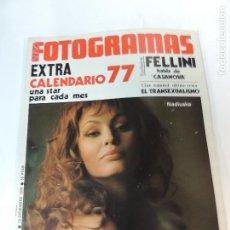 Cine: NUEVO FOTOGRAMAS Nº 1469 DICIEMBRE 1976 - NADIUSKA (PORTADA) FELLINI MARTY FELDMAN CALENDARIO 1977. Lote 73491823
