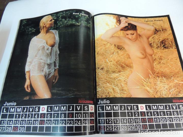 Cine: nuevo fotogramas nº 1469 diciembre 1976 - nadiuska (portada) fellini marty feldman calendario 1977 - Foto 2 - 73491823