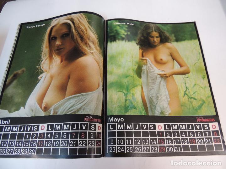 Cine: nuevo fotogramas nº 1469 diciembre 1976 - nadiuska (portada) fellini marty feldman calendario 1977 - Foto 3 - 73491823