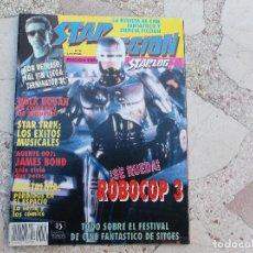 Cine: STAR FICCION Nº 6: ROBOCOP 3. AGENTE 007, JAMES BOND. NOSTALGIA. HULK HOGAN. TERMINATOR 2. STAR TREK. Lote 73492459