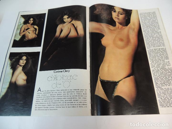 Cine: nuevo fotogramas nº 1459 octubre 1976 - corinne clery (portada) basilio martin patino angela molina - Foto 3 - 73494163