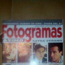 Cine: FOTOGRAMAS EXTRA VERANO 1993 NÚMERO 1 . Lote 73945634