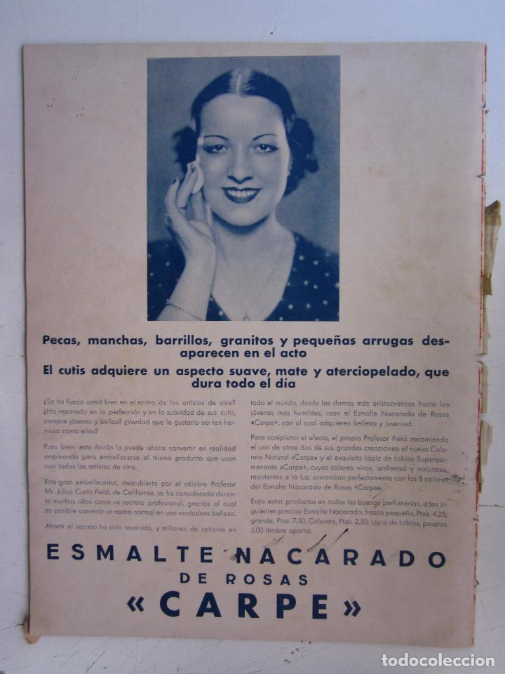 Cine: REVISTA CINEGRAMAS NUMERO 79. AÑO 1936. GRACE BRADLEY - Foto 2 - 73984175