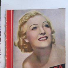 Cine: REVISTA CINEGRAMAS NUMERO 80. AÑO 1936. MARTA EGGERTH. Lote 73984239