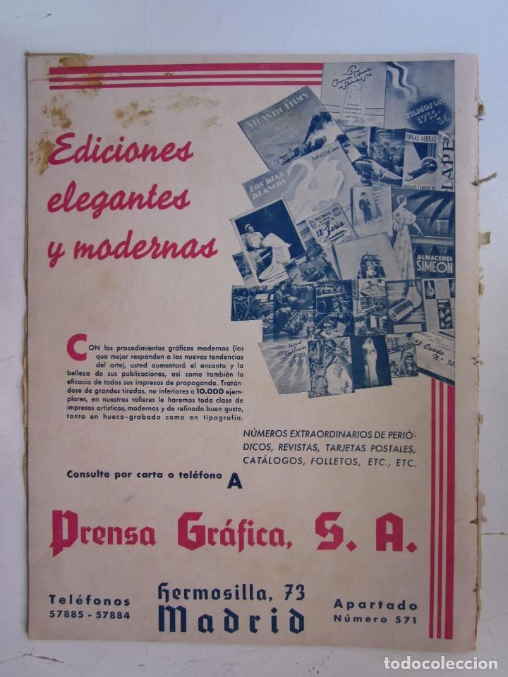 Cine: REVISTA CINEGRAMAS NUMERO 80. AÑO 1936. MARTA EGGERTH - Foto 2 - 73984239