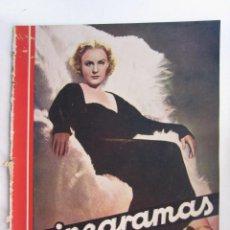 Cine: REVISTA CINEGRAMAS NUMERO 86. AÑO 1936. MAGDA EVANS. Lote 73985951