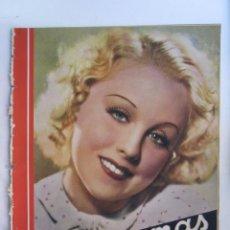 Cinéma: REVISTA CINEGRAMAS NUMERO 87. AÑO 1936. ANNY ONDRA. Lote 73986047