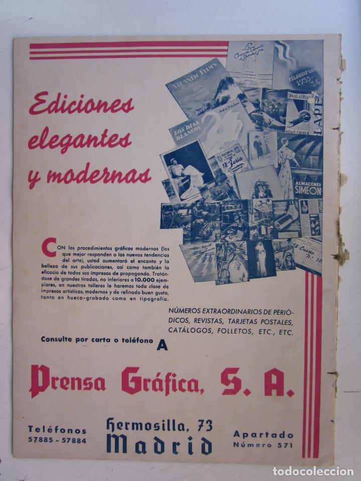 Cine: REVISTA CINEGRAMAS NUMERO 92. AÑO 1936. LILIAN HARVEY - Foto 2 - 73986531