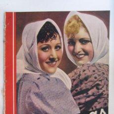 Cine: REVISTA CINEGRAMAS NUMERO 93. AÑO 1936. RAQUEL RODRIGO Y CHARITO LEONIS. Lote 73986627