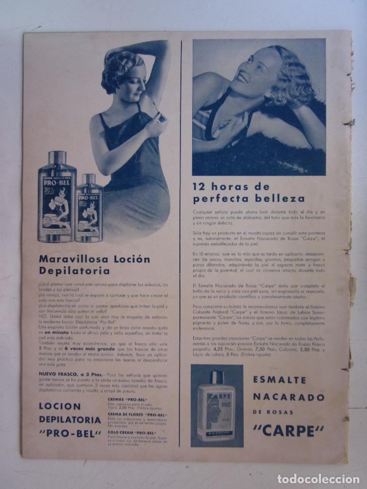 Cine: REVISTA CINEGRAMAS NUMERO 93. AÑO 1936. RAQUEL RODRIGO Y CHARITO LEONIS - Foto 2 - 73986627