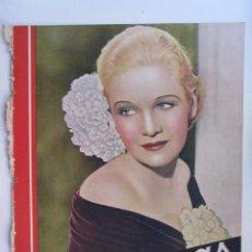 Cine: REVISTA CINEGRAMAS NUMERO 97. AÑO 1936. ANN HARDING. Lote 73986827
