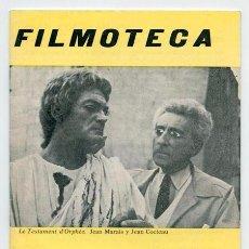 Cine: FILMOTECA, LOTE DE 7. REVISTAS AÑO 1.972. QUE SON LOS Nº 2 - 3 - 7 - 8 - 10 - 11 - 18. MUY NUEVAS,. Lote 74365551
