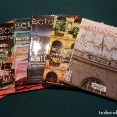 Cine: ACTORES, REVISTA DE LA UNIÓN DE ACTORES - LOTE 10 Nº 93-95-96-97-98-99-100-101-102-103 (CINE). Lote 74385235