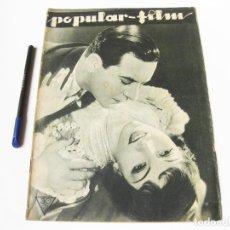 Cine: REVISTA CE CINE POPULAR FILMS Nº 369 DE SEPTIEMBRE DE 1933. Lote 74951311