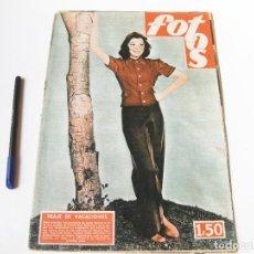 Cine: REVISTA FOTOS. AÑO XII, NÚMERO 503 DE OCTUBRE DE 1946.. Lote 74962547