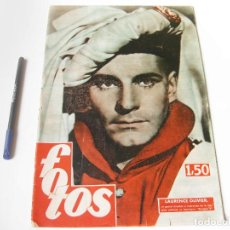 Cine: REVISTA FOTOS. AÑO IX, NÚMERO 504 DE OCTUBRE DE 1946.. Lote 74962807