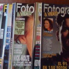Cine: LOTE FOTOGRAMAS AÑO 1992 COMPLETO. Lote 75016821