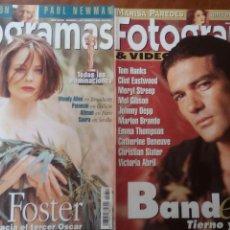 Cine: LOTE 2 REVISTAS FOTOGRAMAS AÑO 1995. Lote 75018065