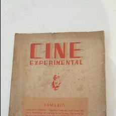 Cine: CINE EXPERIMENTAL - Nº 4 -1945. Lote 75155563