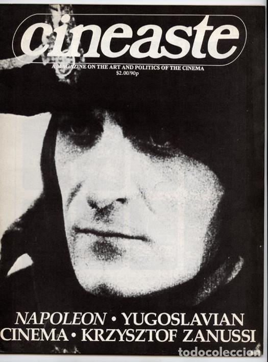 NAPOLEÓN DE ABEL GANCE - CINE YUGOSLAVO – ENTREVISTA A KRZYSZTOF ZANUSSI (CINEASTE, NUEVA YORK 1981) (Cine - Revistas - Otros)
