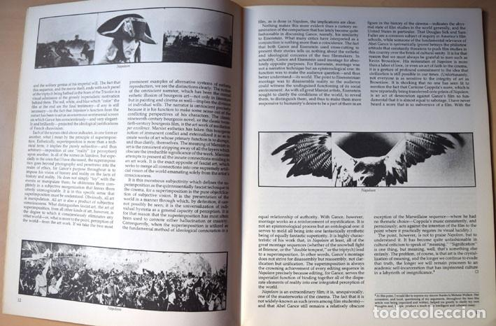 Cine: Napoleón de Abel Gance - cine yugoslavo – entrevista a Krzysztof Zanussi (Cineaste, Nueva York 1981) - Foto 4 - 75255891