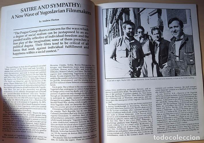 Cine: Napoleón de Abel Gance - cine yugoslavo – entrevista a Krzysztof Zanussi (Cineaste, Nueva York 1981) - Foto 6 - 75255891
