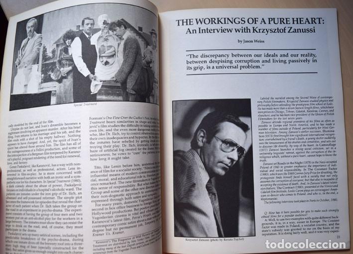 Cine: Napoleón de Abel Gance - cine yugoslavo – entrevista a Krzysztof Zanussi (Cineaste, Nueva York 1981) - Foto 7 - 75255891