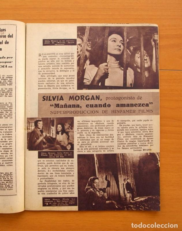 Cine: Radiocinema - Nº 210, 31 de Julio 1954 - Portada Pier Angeli, contraportada Gary Grant - Foto 4 - 75276547