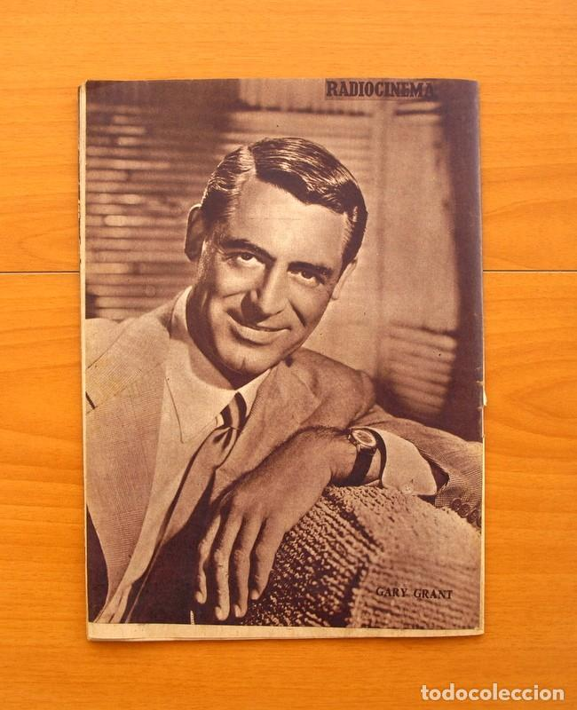 Cine: Radiocinema - Nº 210, 31 de Julio 1954 - Portada Pier Angeli, contraportada Gary Grant - Foto 10 - 75276547