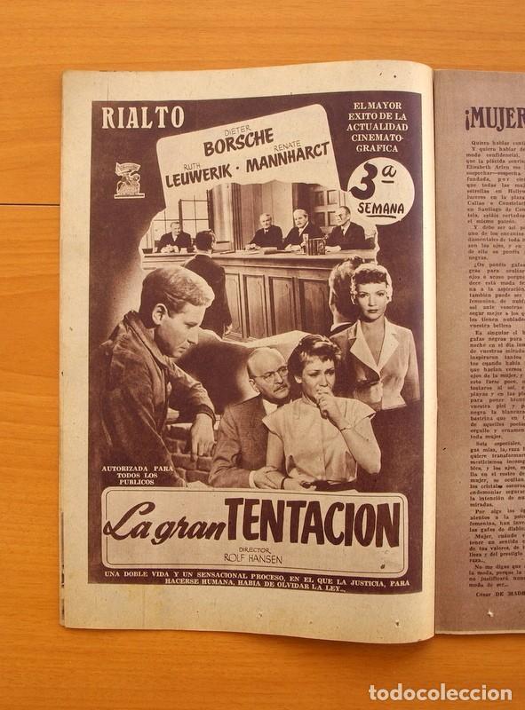 Cine: Radiocinema - Nº 217, 18 de Septiembre 1954 - Portada Susana Canales, contraportada Robert Taylor - Foto 6 - 75276879