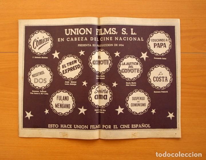 Cine: Radiocinema - Nº 217, 18 de Septiembre 1954 - Portada Susana Canales, contraportada Robert Taylor - Foto 8 - 75276879