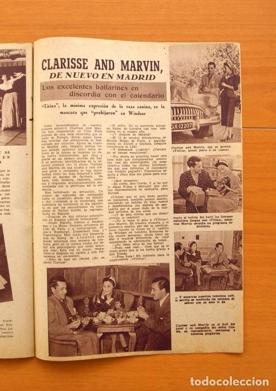 Cine: Radiocinema - Nº 217, 18 de Septiembre 1954 - Portada Susana Canales, contraportada Robert Taylor - Foto 12 - 75276879