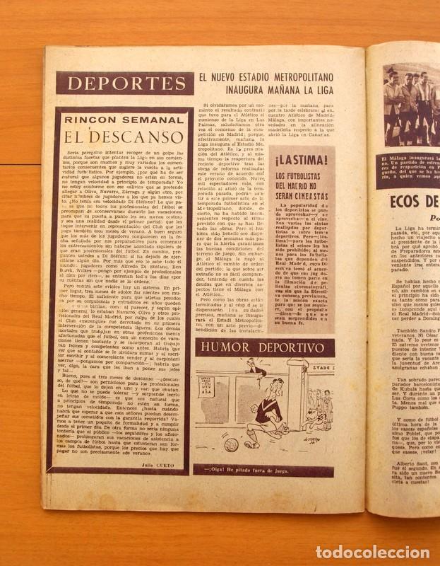 Cine: Radiocinema - Nº 217, 18 de Septiembre 1954 - Portada Susana Canales, contraportada Robert Taylor - Foto 14 - 75276879