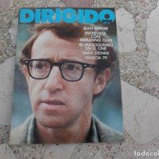Cinéma: DIRIGIDO POR Nº 66, JEAN RENOIR,EL MASOQUISMO EN EL CINE,MAX STEINER, VENECIA -79,ERMANNO OLMI. Lote 174444358