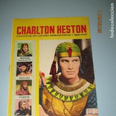 Cine: ANTIGUA REVISTA PARA MAYORES COLECCIÓN CINECOLOR CON CHARLTON HESTON - AÑO 1958. Lote 75309927