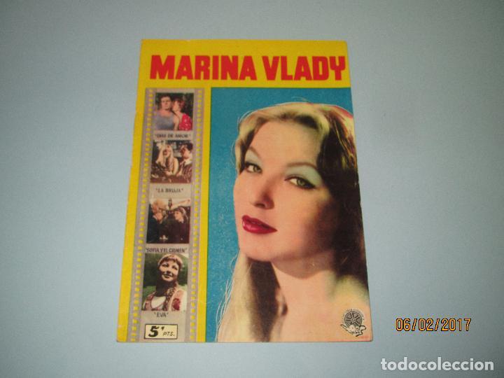 ANTIGUA REVISTA PARA MAYORES COLECCIÓN CINECOLOR CON MARINA VLADY - AÑO 1958 (Cine - Revistas - Cinecolor)
