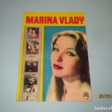 Cine: ANTIGUA REVISTA PARA MAYORES COLECCIÓN CINECOLOR CON MARINA VLADY - AÑO 1958. Lote 75310203