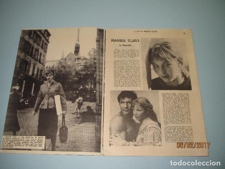 Cine: Antigua Revista para Mayores Colección CINECOLOR con MARINA VLADY - Año 1958 - Foto 2 - 75310203