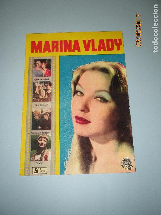 Cine: Antigua Revista para Mayores Colección CINECOLOR con MARINA VLADY - Año 1958 - Foto 4 - 75310203