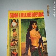Cine: ANTIGUA REVISTA PARA MAYORES COLECCIÓN CINECOLOR CON GINA LOLLOBRIGIDA - AÑO 1958. Lote 75310483