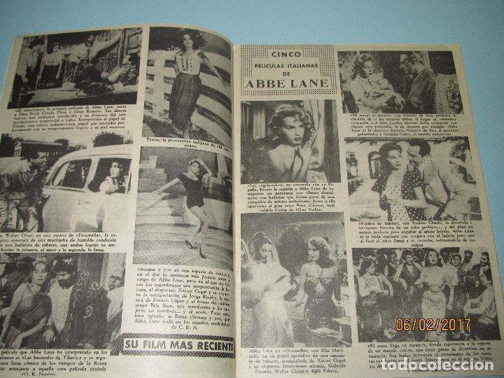 Cine: Antigua Revista para Mayores Colección CINECOLOR con ABBE LANE - Año 1958 - Foto 3 - 75315883