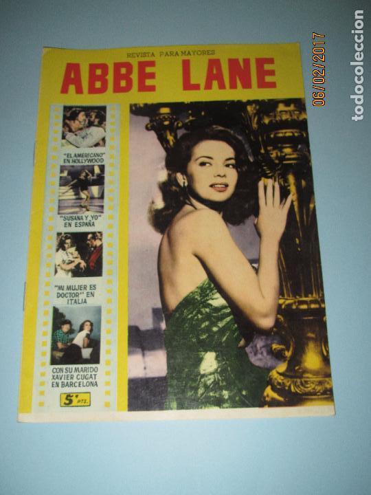 Cine: Antigua Revista para Mayores Colección CINECOLOR con ABBE LANE - Año 1958 - Foto 4 - 75315883